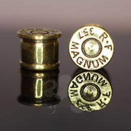 Plug en Bronze  cartouche de 357 Magnum