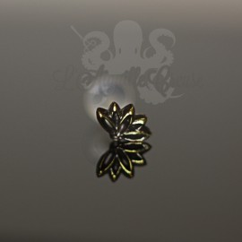 Accessoire en bronze fleur de Nénuphar clipable