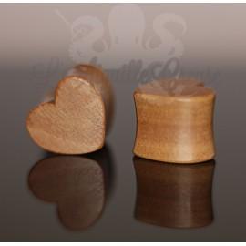 Plug Coeur en bois