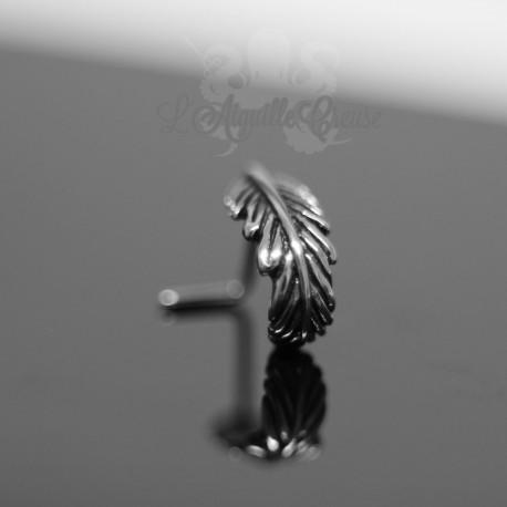 Bijou de narine effet plume