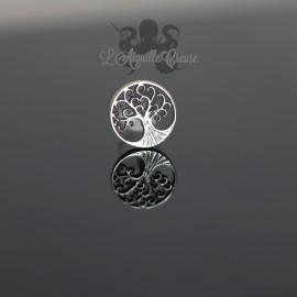 Accessoire en argent 925 Yggdrasil clipable
