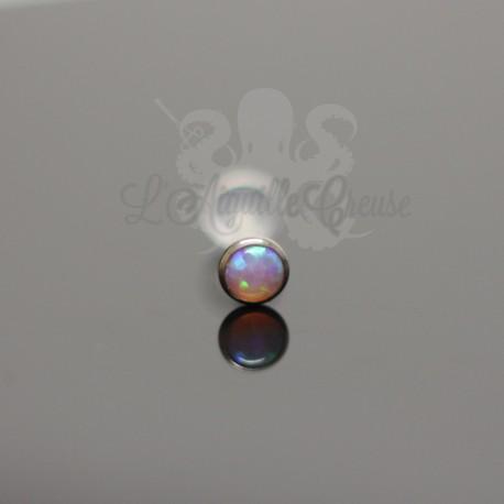 Opale synthétique et titane G 23