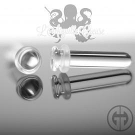 Plug de Conch Transparent Gorilla Glass