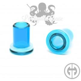 Paire de tunnels Gorilla Glass Turquoise