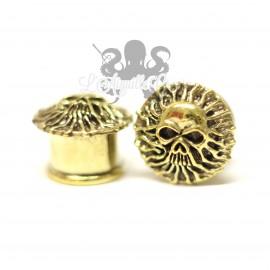Plug Crâne en Bronze