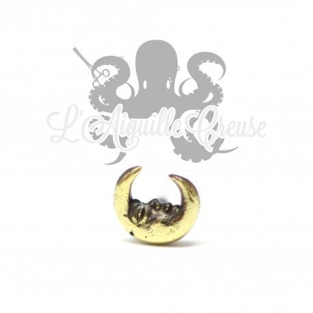 Accessoire en bronze Lune clipable