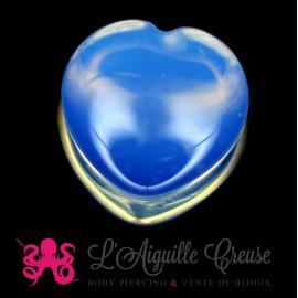 Plug Coeur en Opalite