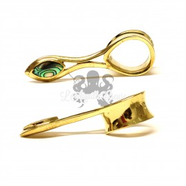Plug en Bronze & Abalone