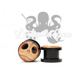 Plug skull calavera en acrylique