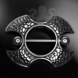 Bouclier en fonte d'acier