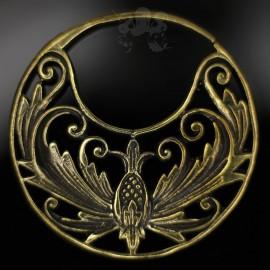 Paire de boucles d'oreilles / Accessoires pour tunnels, en Bronze