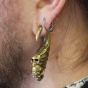 Poids crâne en bronze
