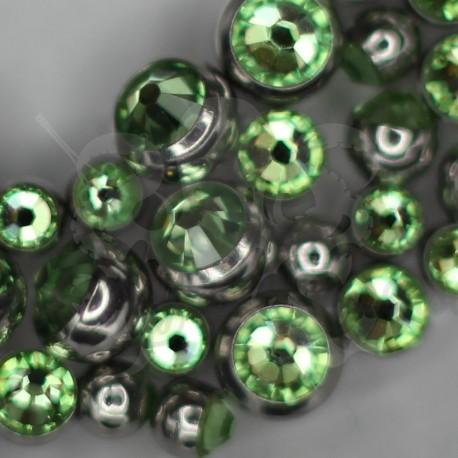 Bille strassé pour bijou en 1.2 mm.