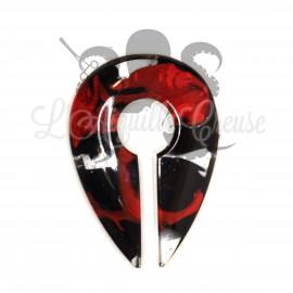 Paire de poids rouge & noir - Gorilla Glass
