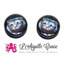 Plug chat du Cheshire en acrylique