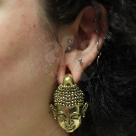 Poids Bouddha en bronze