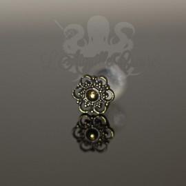 Fleur en bronze clipable