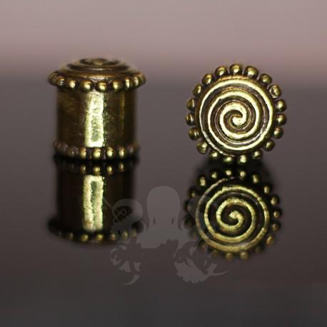 Plug en Bronze Spirale