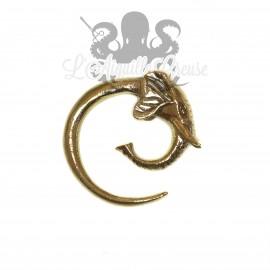 Poids en bronze Elephant