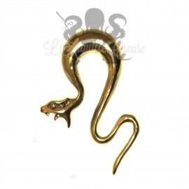 Poids en bronze Serpent