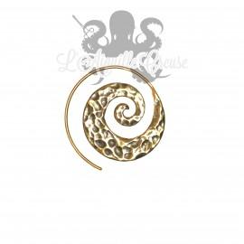 Boucle d'oreille / Accessoire pour tunnel, en Bronze