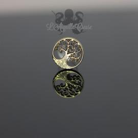 Accessoire en bronze Yggdrasil l'arbre de vie clipable