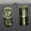 Plug en Bronze Rouages