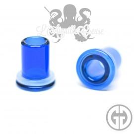 Paire de tunnels Gorilla Glass Bleu foncé