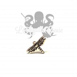 Accessoire Libellule en argent 925 clipable