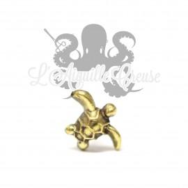 Accessoire en bronze Tortue clipable
