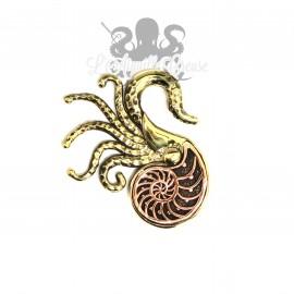 Poids en bronze Nautile