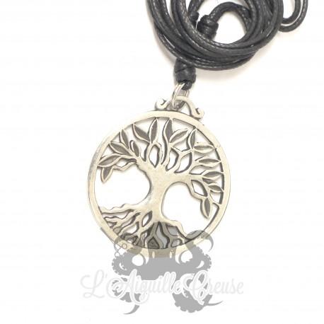 Collier Yggdrasil en bronze