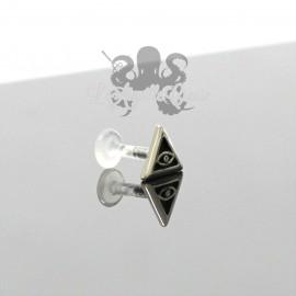 Bijou de cartilage/tragus Illuminati clipable