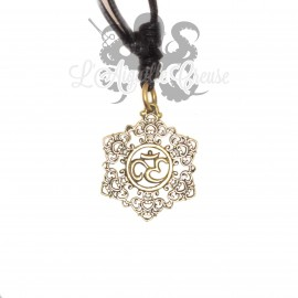 Collier ohm en bronze
