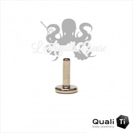 Barre de Labret QualiTi 1.6mm pas de vis interne