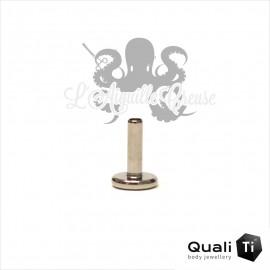 Barre de Labret QualiTi 1.6mm pas de vis interne