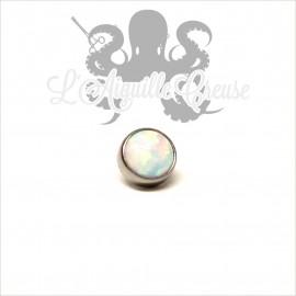 Accessoire Opale de 4 mm en titane - pour 1.2 mm