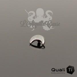 Accessoire QualiTi Lune en titane - pour 1.6 mm