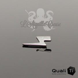 Accessoire QualiTi Eclair en titane - pour 1.2 mm