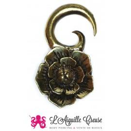 Poids fleur en bronze