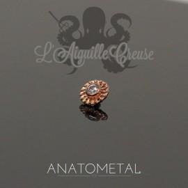 Accessoire ANATOMETAL en or jaune 18 carats pour 1.6 mm