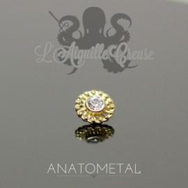 Accessoire Virtue End ANATOMETAL en or jaune 18 carats pour 1.2 mm