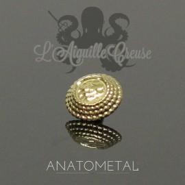 Accessoire Hera End ANATOMETAL en or jaune 18 carats pour 1.2 mm