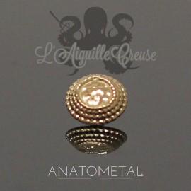 Accessoire Hera End ANATOMETAL 5 mm en or rose 18 carats pour 1.6 mm