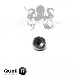 Accessoire QualiTi en zircon no foil et titane - pour 1.2 mm