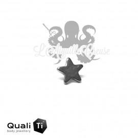 Accessoire QualiTi Etoile en titane - pour 1.2 mm