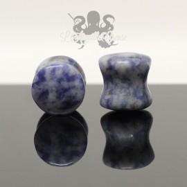 Plug en Lapis Lazuli