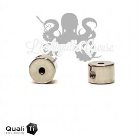 Clip QualiTi pour Anneau BCR en titane pour accessoires en 1.2 mm