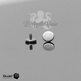 Plateau QualiTi en titane, pour 1.2 mm