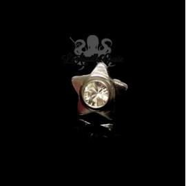 Accessoire pour bijou en 1.6 mm en titane & cristal swarovski